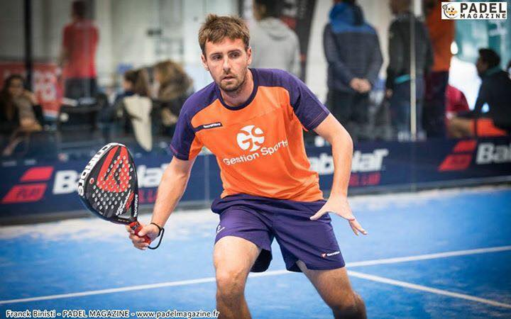 Loic Tap progression padel